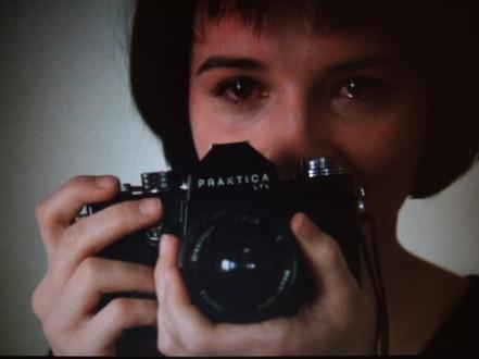 unbearable binoche and camera