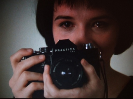 unbearable binoche and camera