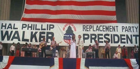 ronee henry on stage red white blue